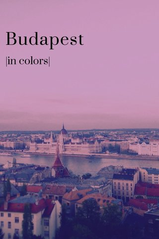 Budapest  in colors 