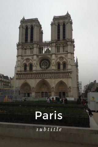 Paris subtitle