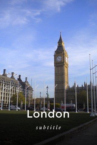 London subtitle