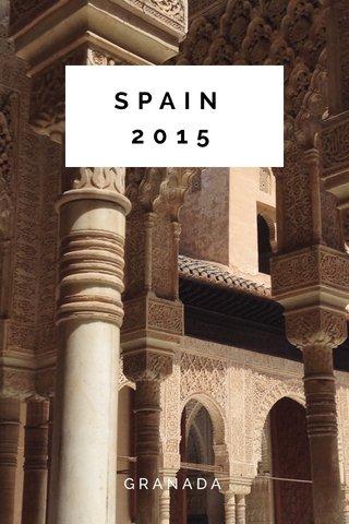 SPAIN 2015 GRANADA
