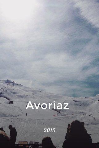 Avoriaz 2015