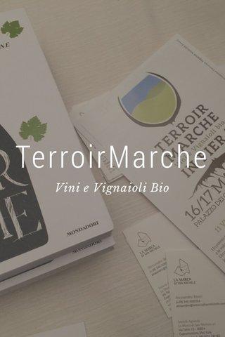 TerroirMarche Vini e Vignaioli Bio
