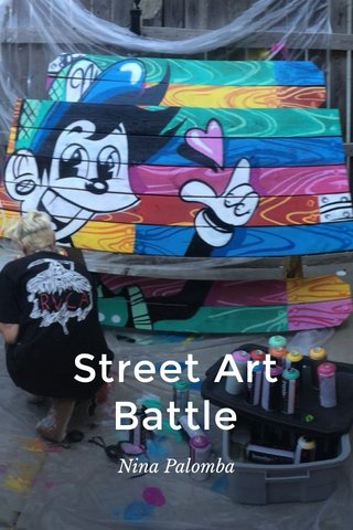 Street Art Battle Nina Palomba