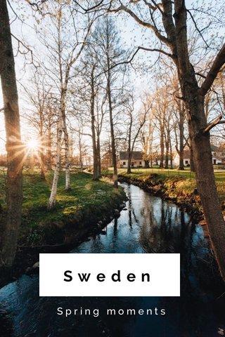Sweden Spring moments