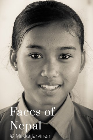 Faces of Nepal © Miikka Järvinen