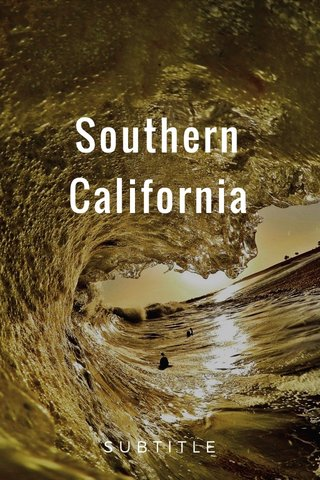 Southern California SUBTITLE