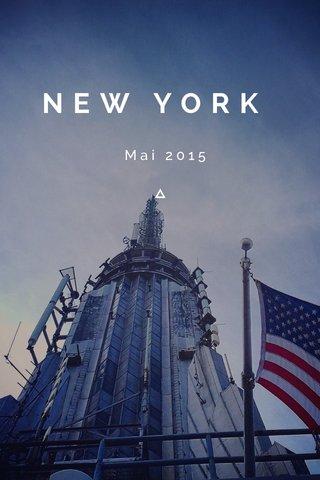 NEW YORK Mai 2015