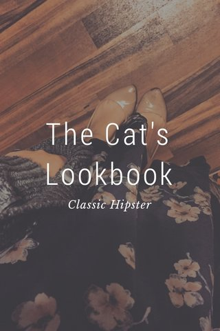 The Cat's Lookbook Classic Hipster