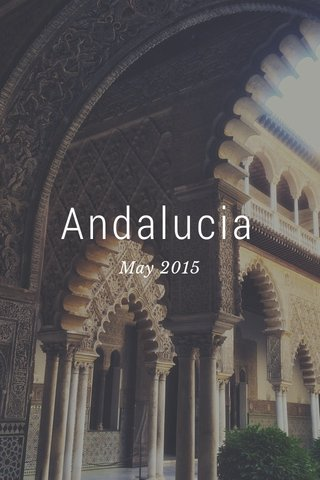 Andalucia May 2015