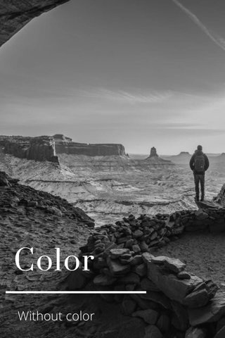 Color Without color