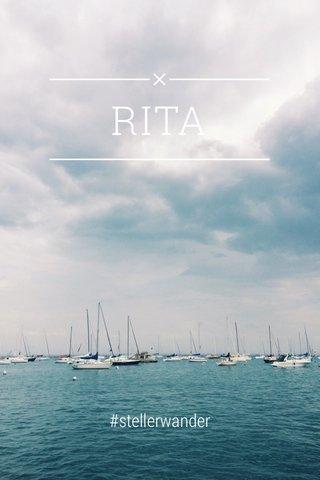 RITA #stellerwander