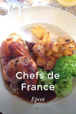 Chefs de France Epcot