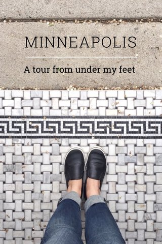 MINNEAPOLIS A tour from under my feet