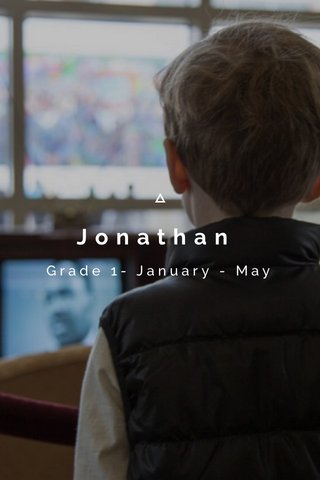 Jonathan Grade 1- January - May