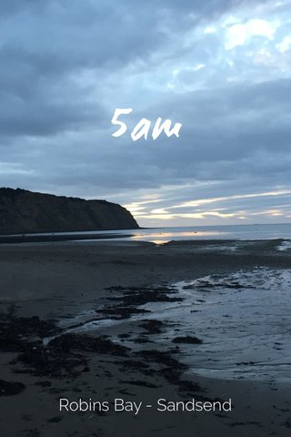 5am Robins Bay - Sandsend