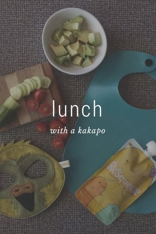 lunch with a kakapo