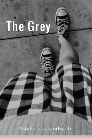 The Grey #stellerblackandwhite