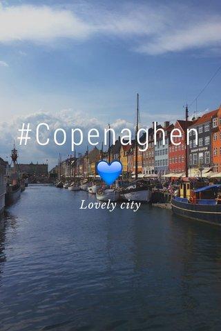 #Copenaghen 💙 Lovely city