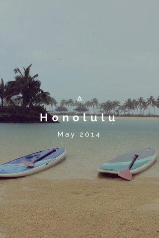 Honolulu May 2014