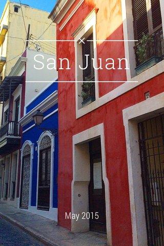 San Juan May 2015
