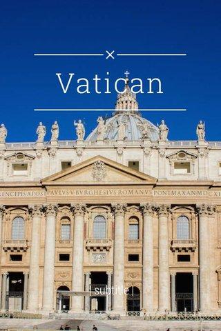 Vatican | subtitle |