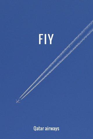 FlY Qatar airways