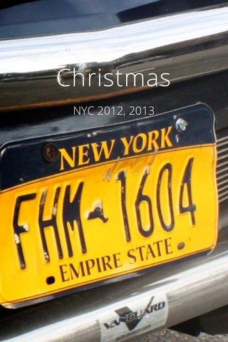 Christmas NYC 2012, 2013