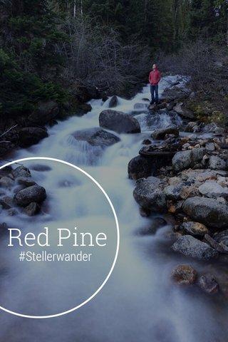 Red Pine #Stellerwander