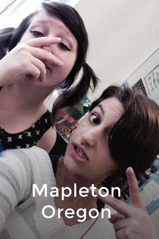 Mapleton Oregon