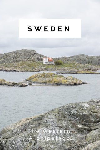 SWEDEN The Western Archipelago
