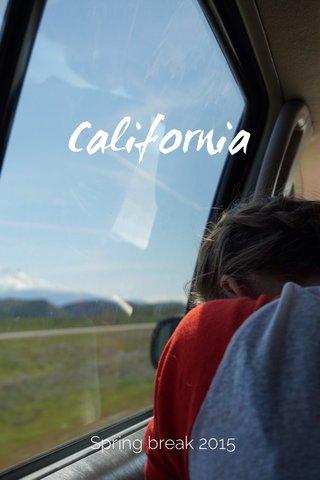 California Spring break 2015
