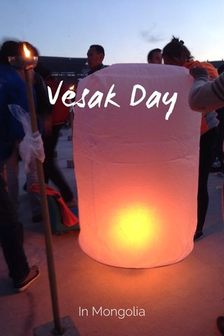 Vesak Day In Mongolia