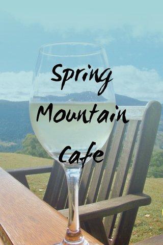Spring Mountain Cafe