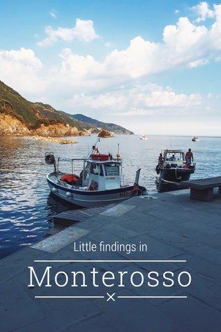 Monterosso Little findings in