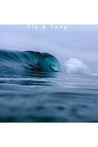 Yin & Yang SUBTITLE