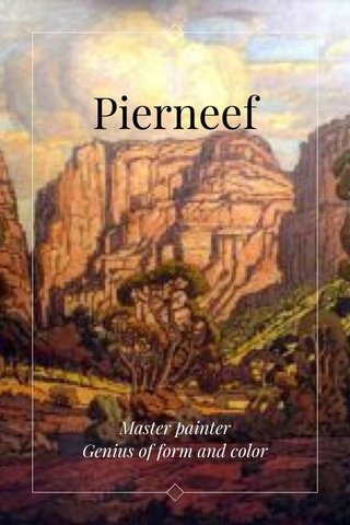 Pierneef Master painter Genius of form and color