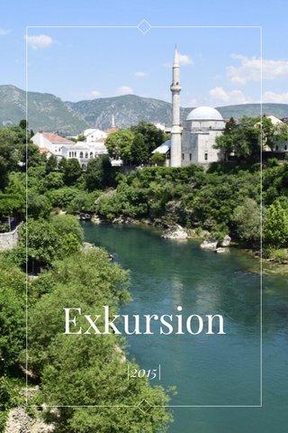 Exkursion |2015|