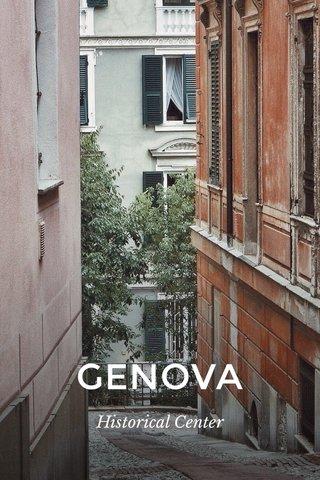 GENOVA Historical Center