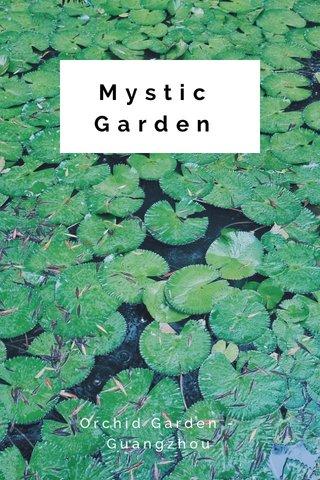 Mystic Garden Orchid Garden - Guangzhou