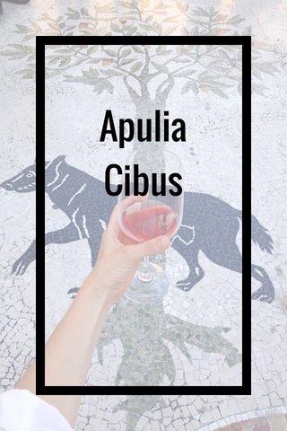 Apulia Cibus