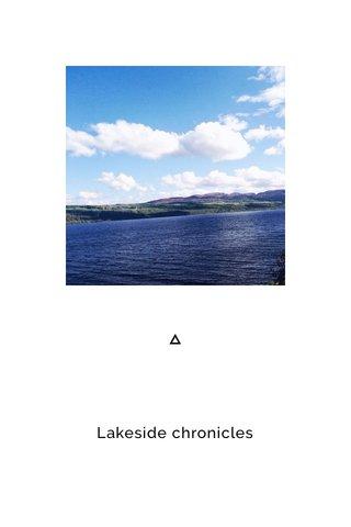 Lakeside chronicles