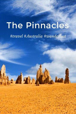 The Pinnacles #travel #Australia #wanderlust