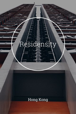 Residensity Hong Kong