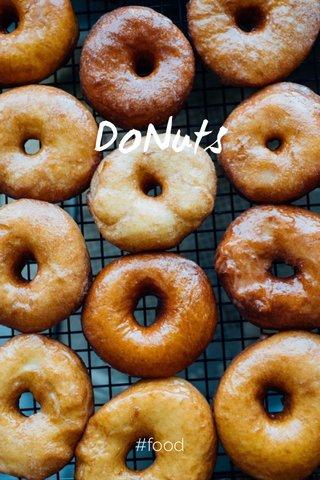 DoNuts #food