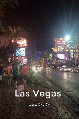 Las Vegas subtitle