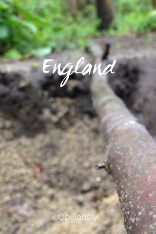 England Obviously