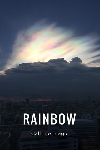RAINBOW Call me magic