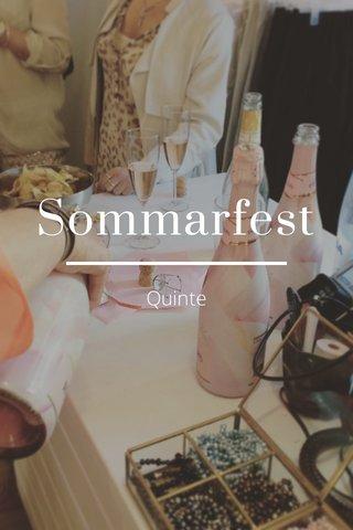 Sommarfest Quinte