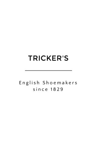 TRICKER'S English Shoemakers since 1829