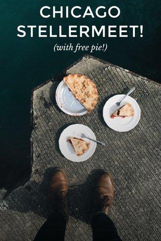 CHICAGO STELLERMEET! (with free pie!)